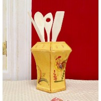Bamboo Rooster Kitchen Tool Set, 83938 By ACK by ACK