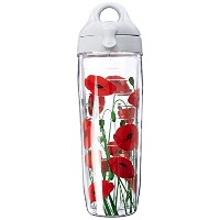 Tervis Water Bottle, Poppies Wrap by Tervis
