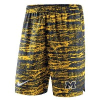 Michigan Wolverines Nike Shield Performance Shorts メンズ Navy NCAA ナイキ バスパン カレッジ