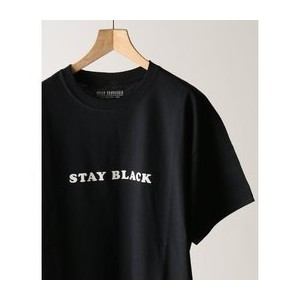 WILLY CHAVARRIA / ウィリーチャバリア :別注STAY BLACK WILLY Tシャツ【ジャーナルスタンダード/JOURNAL STANDARD メンズ Tシャツ・カットソー...