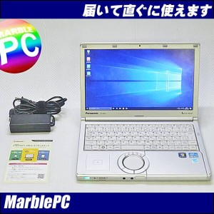 中古パソコン Windows10 Panasonic Let's note NX2JDQYSi5-3320M 2.6G/12.1WXGA++/HDD500G/WLAN/BluetoothWebcam...