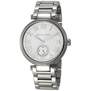 マイケルコース Michael Kors レディース 腕時計 時計 Michael Kors Skylar Silver Dial Stainless Steel Ladies Watch...