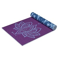 (ガイアム)Gaiam Print Premium Reversible Yoga Matsヨガマット (5mm)