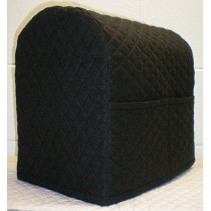 Quilted Kitchenaid Tilt Head Stand Mixer Cover (Black) by Penny's Needful Things