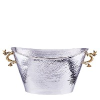 Old Dutch International 'Dragon' Handle Oval Party Tub, Stainless Steel [並行輸入品]