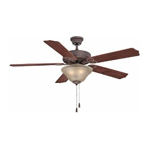 Volume Lighting V6173-79 4 Light Ceiling Fan [並行輸入品]