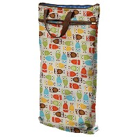 Planet Wise Hanging Wet/Dry Bag, Owl by Planet Wise