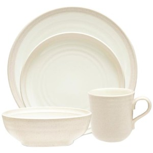 Noritake 4-piece Colorvara Place Setting、ホワイトby Noritake