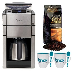 Capresso CoffeeTeam Pro Plus With Thermal Carafeコーヒーメーカーwith Knox Mug w / Spook ( 2 - pk ) &...