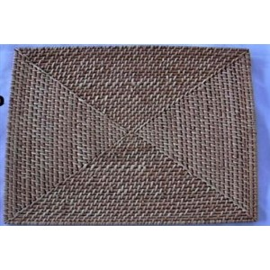 ChargeIt by Jay Bamboo/Rattan Square Placemat