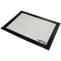 Lekue 12 by 16-Inch Silicone Baking Mat, Clear