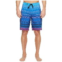 "ハーレー メンズ 水着 水着 Phantom Kingston 20"" Boardshorts Light Photo Blue"