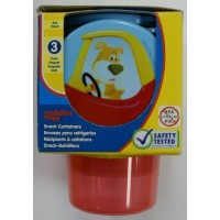Little Tikes BPA PVC FREE 3 Snack containers - 4 oz by Little Tikes