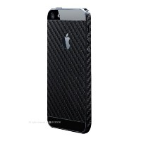 Generic (ジェネリック) Carbon Skin Seal for iPhone5/5s カーボンブラック