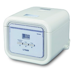 Tiger Corporation JAJ-A55U-WS 3-Cup Micom Slow Rice Cooker and Bread Maker - White by Tiger...