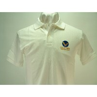 "Buzz Rickson's (バズリクソンズ) Short Sleeve POLO SHIRT ""U.S.AIR FORCE"""