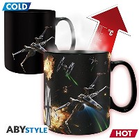 Star Wars Thermo-sensitive Mug - Space Battle