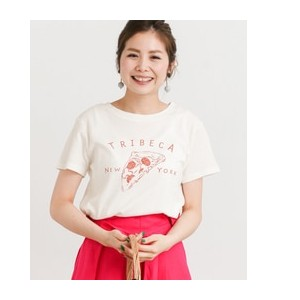 Sonny Label PIZZA Tシャツ【アーバンリサーチ/URBAN RESEARCH Tシャツ・カットソー】