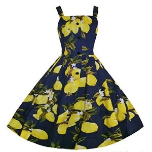 Huada Women s Vintage Audrey 50 S Strappy Swing Rockabilly Skaters Sexy Dresses