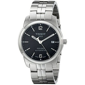 ティソ Tissot 腕時計 メンズ 時計 Tissot Men's T0494071105700 PR 100 Black Automatic Dial Watch