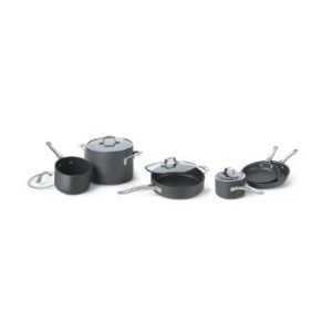 Cooking with Calphalon Refined Hard Anodized 10Piece Set