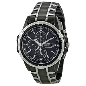 セイコー Seiko Men's SSC143 Stainless Steel Solar Watch with Link Bracelet 男性 メンズ 腕時計 【並行輸入品】