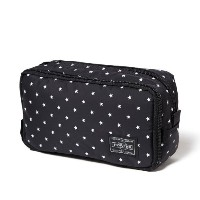 (ヘッド・ポーター) HEAD PORTER | STELLAR | COSMETIC CASE BLACK