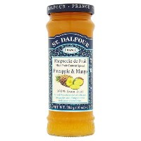 St Dalfour Pineapple & Mango Fruit Spread 284 g (order 6 for trade outer) / 284グラム(商品アウター用6順)...