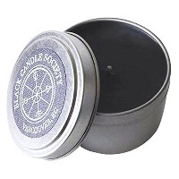 Black Candle Society Natural Soy Candle, Earth (Cucumber/Fir/Pine), 6 oz [並行輸入品]