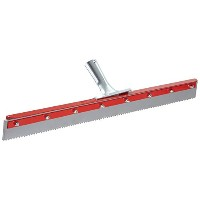 Haviland 1424SE EPDM Rubber Non-Marking Heavy Duty Serrated Applicator Squeegee, 24 Length, 3/16...