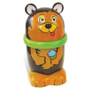 Ice Cream MUGZ Personal-Size Instant Make Your Own Ice Cream/Slushy Maker, GRIZZLY BEAR by GeoSpace