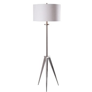 Kenroy Home 32263BS Foster Floor Lamp, Brushed Steel Finish by Kenroy Home