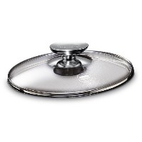 Berndes Tempered Glass Lid with Stainless Knob, 12.5' inner diameter, 13' outer diameter [並行輸入品]