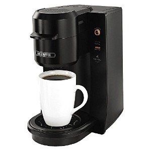 Mr. Coffee BVMC-KG2B-001 Single Serve Coffee Maker, Black [並行輸入品]