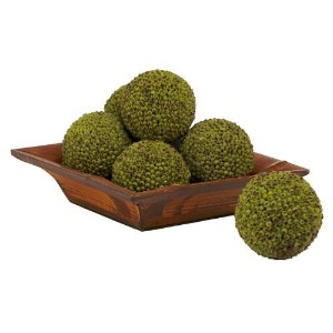 Nearly Natural 4795 Berry Ball, 4-Inch, Green, Set of 6 by Nearly Natural [並行輸入品]