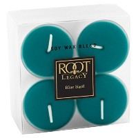 Root Legacy Scented Tealight Candles, Blue Basil, Set of 8 [並行輸入品]