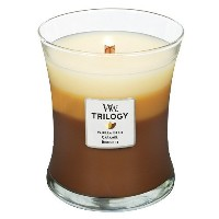 Woodwick Candle Caf? Sweets Trilogy Medium Jar [並行輸入品]