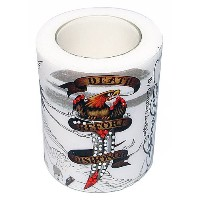 Ed Hardy Candle 4 by 5 Hurricane Death Before Dishonor [並行輸入品]