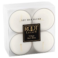 Root Legacy Scented Tealight Candles, Village Herb Shop, Set of 8 [並行輸入品]