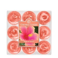 Colonial Candle Tropical Nectar Tealights, Set of 9 [並行輸入品]