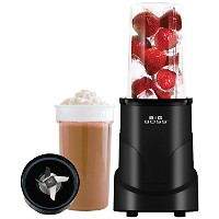 Big Boss 8994 4-Piece Personal Countertop Blender Mixing System, 300-watt, Black [並行輸入品]