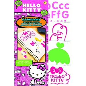 Sandylion Hello Kitty Roomscape Mini Wall Accent Stickers, 6 by 10-Inch [並行輸入品]
