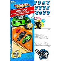 Sandylion Hot Wheels Roomscape Mini Wall Accent Stickers, 6 by 10-Inch [並行輸入品]