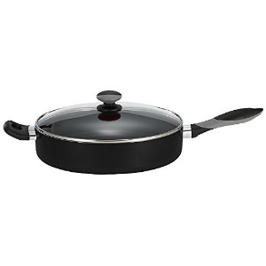 Mirro A79782 Get A Grip Aluminum Nonstick Jumbo Cooker Deep Fry Pan with Glass Lid Cover Cookware,...