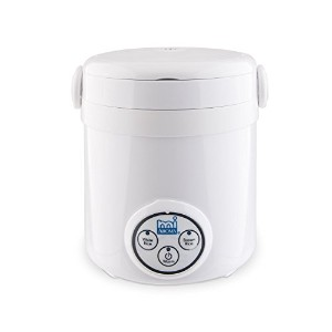 Aroma Housewares Mi 3-Cup (Cooked) (1.5-Cup UNCOOKED) Digital Cool Touch Mini Rice Cooker [並行輸入品]