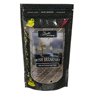Metropolitan Tea Discovery Loose Tea Pack, Decaffeinated Irish Breakfast Decaffeinated, 100gm ...