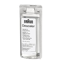 Braun BRSC003 2 x 100ml Ecodecalk Descaler for Coffee Machines, White [並行輸入品]