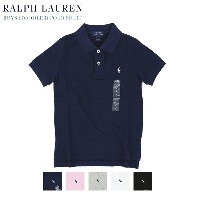(TODDLER) POLO by Ralph Lauren Boys(2-7) Polo Shirt ラルフローレン ボーイズ 半袖 ポロシャツ 無地 ワンポイント