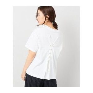【A PUPIL/ア ピューピル】 LESSAGE SP BACKレースアップTシャツ【ジャーナルスタンダード/JOURNAL STANDARD Tシャツ・カットソー】