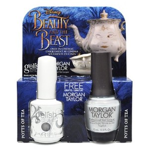Harmony Gelish & Morgan Taylor - Two of a Kind - Potts of Tea - 0.5oz / 15ml Each